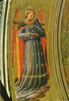 """Fra Angelico (Italian, ca.1395-1455) ~ Fra Angelico was an Early Italian Renaissance painter described by Vasari in his Lives of the Artists as having """"a rare and perfect talent"""". He was known to contemporaries as Fra Giovanni da Fiesole and Fra Giovanni Angelico."""