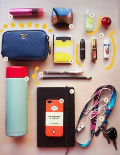 So, what's in my bag? ○ IRIS DIANE PALMA