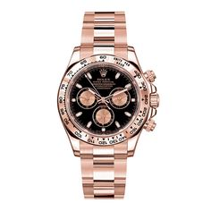 Rolex Daytona or rose http://www.vogue.fr/joaillerie/shopping/diaporama/montres-or-normes/10338/image/639354