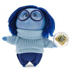 The Inside Out Deluxe Talking Sadness figure, based on the character from the Disney/Pixar movie Inside Out, is just as gloomy as her on-screen counterpart.