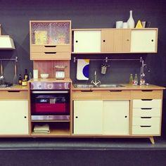 Retro Cool Mini Kitchen from Dialma Brown — Maison et Objet   Apartment Therapy