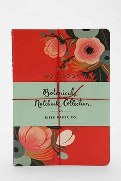 Rifle Paper Co. Notebook - Set Of 3