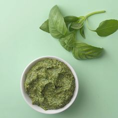 Check out this guide on How to Turn Any Herb into Pesto-- a guide on how to make healthy pesto and more healthy pesto recipes from @EatingWell #healthy #summer #basil #arugula