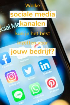 In de wereld van social media zijn de mogelijkheden eindeloos. Waar begin je? Welk social media kanaal is geschikt? Wij vertellen je er meer over!  #marketingdigital #marketing #marketingtip #MKB #onlinemarketing #mobielemarketing   #onlinemarketingtip #marketingblog #website #ondernemer #zzp #eigenbedrijf #ondernemerschap #socialemedia #socialmedia #socialmediakanalen #facebook #instagram #pinterest #youtube #linkedin #twitter Online Marketing, Facebook, Website, Twitter, Youtube, Blog, Instagram, Blogging, Youtubers