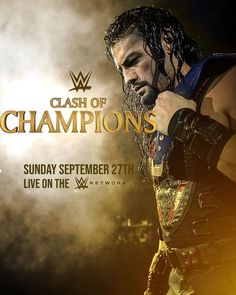 """WWGFX on Instagram: """"WWE Clash of Champions 2020 Poster feat @romanreigns - - - #prowrestling #wrestling #wwe #clashofchampions #romanreigns #graphic #gfx…"""" Roman Reigns Wwe Champion, Wwe Superstar Roman Reigns, Clash Of Champions, Wwe Champions, Apple Tv, Best Wwe Wrestlers, Roman Reighns, Roman Reigns Gif, Wwe Ppv"""