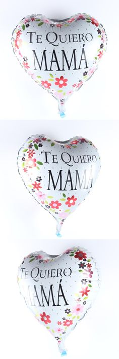 [Visit to Buy] 18inch TE QUIERO MAMA  Balloon Aluminum Foil Balloons Party Decoration Balloon Celebration Supplies #Advertisement