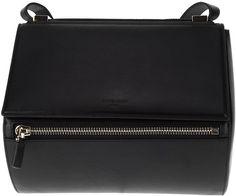 Calf Leather Shoulder Bag - Lyst