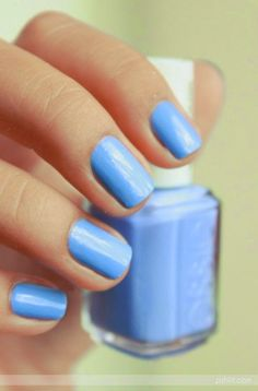 "Love this nail polish color! Called: ""Bikini so Teeny"" By Essie"