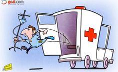 Մեսին դուրս է գալիս շտապօգնության մեքենայից ու… գրավում դարպասը (ծաղրանկար)   Vivaro News