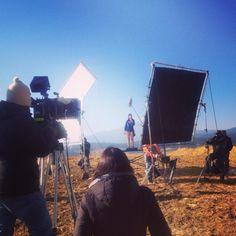 "Shooting for Nestle at ""El Iztaccihuatl"""