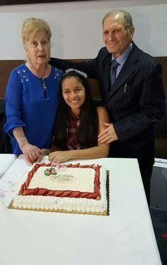 Zio Vito e zia Pina di Seggiano con nipotina