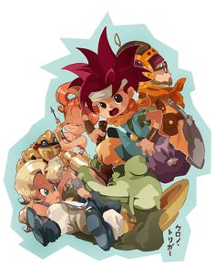 Hurry Scurry Chrono by Laumii on DeviantArt Chrono Cross, Chrono Trigger, Video Game Art, Tigger, Bowser, Dragon Ball, Chibi, Cool Art, Nintendo