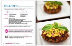 The Hungry Hottie Cookbook | Black Bean Cakes