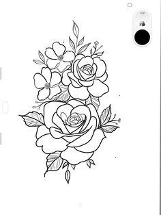 90 Super Cute Small Tattoo Ideas For Every Girl - TheTatt Realistic Flower Tattoo, Simple Flower Tattoo, Lily Flower Tattoos, Flower Tattoo Arm, Flower Tattoo Shoulder, Flower Tattoo Designs, Lotus Tattoo, Tattoo Simple, Tattoo Stencils