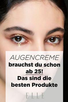 Augencreme gehört ab Mitte 20 in das Beauty-Repertoire. Welche Produkte am besten gegen Falten, Tränensäcke und Co. wirken, erfährst du hier. #augencreme #beauty #falten
