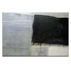 Artist Lane Seismic Shift #2 by Katherine Boland Art Print on Canvas in Grey / Black