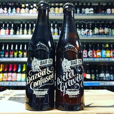 Returning beer. Wild Gravity IPA & Dazed and Confused Milk Stout from @badcobrewinganddistilling in stock now