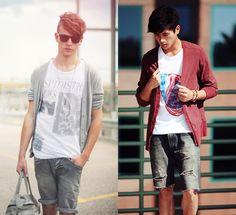 Moda masculina primavera verão 2012.