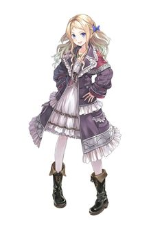Cordelia von Feverbach from Atelier Rorona, by Kishida Mel. How did I not have any Kishida-sensei pinned here yet!?