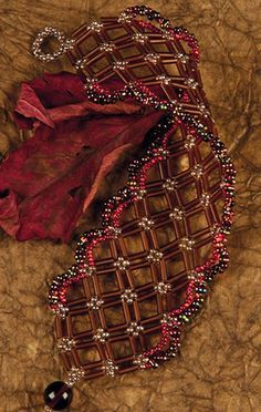 Tutorial - Bracelet with Seed Beads and Czech Pressed Glass Beads - Fire Mountain Gems and Beads