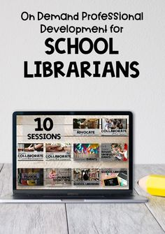 Are you a school librarian looking for virtual professional development? Are you tired of sitting through school PD that is not meant for you? This online, on demand training for school librarians will give you confidence as you reimagine your library program. Start learning from the comfort of your home today with this convenient PD just for school librarians! #thetrappedlibrarian #schoollibrarianpd #librarymagic Middle School Libraries, Elementary School Library, Elementary Schools, Library Skills, Library Lessons, Library Ideas, School Hacks, School Tips, Reading Motivation
