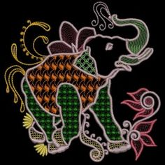 Stylish Elephants