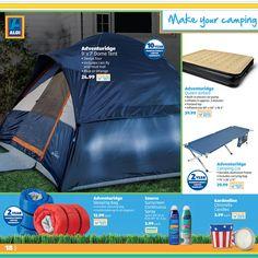 Adventuridge 9' x 7' Dome Tent from ALDI ALDI Summer