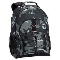 Gear-Up Black Camo Backpack #pbteen