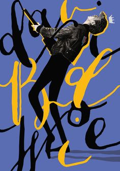 Typographic David Bowie Posters by Selman Hosgör | Inspiration Grid | Design Inspiration