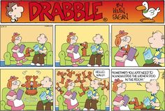 Look at me! Drabble on GoComics.com #dogs #humor #comics