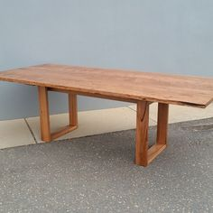 A beautiful and unique Ulara dining #table made from unusual boards of narrow leaf peppermint sourced from a farm near Batlow, NSW.  #nswtimber #custommade #timberfurniture #australianmade #diningtable #design