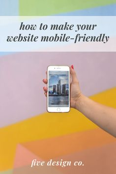 How to make your Squarespace website mobile-friendly (and boost SEO!) with mobile responsive web design other practical tips for faster page loading and optimum mobile user experience. // Web design tips Custom Web Design, Web Design Tips, Web Design Services, Ios Design, Design Process, Graphic Design, Navigation Design, Responsive Web Design, Dashboard Design