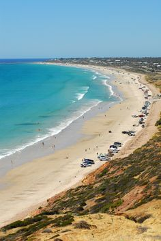 cars on Aldinga Beach, South Australia To learn more about #Adelaide | #SouthAustralia, click here: http://www.greatwinecapitals.com/capitals/adelaide-south-australia