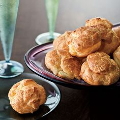 Cabot Clothbound Cheddar gougères are perfect on New Year's eve with cava.  Plus: F&W's Appetizers Cooking Guide     Quick Party Appetizers...