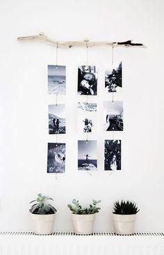 Make a photo wall yourself: ideas for a creative wall design Fotowand selber machen: Ideen für eine kreative Wandgestaltung Make a photo wall yourself: ideas for a creative wall design