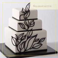 Silhouette cake by https://www.facebook.com/CIAchef