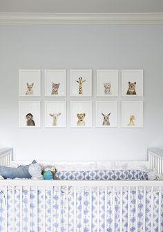 molly sims nursery | little darlings :: paint color BM First Snowfall