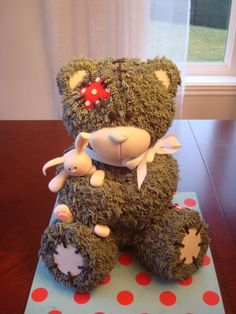 3D Teddy Bear Cake Is Easy To Make And Looks Great   The WHOot