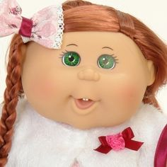 my favourite doll ever@cabbage patch kids.com Cabbages, Patch Kids, Cabbage Patch, Patches, Dolls, My Favorite Things, Face, Puppet, Cabbage