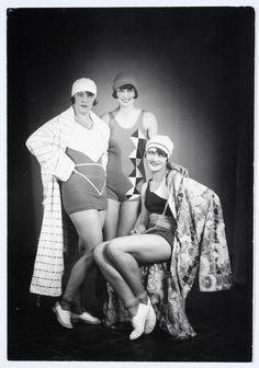 Polish fashion, ca. 1930s.