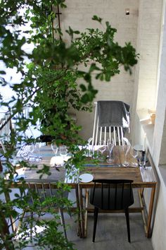 Simple small balcony