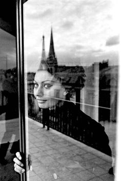 Sophia Loren in Paris