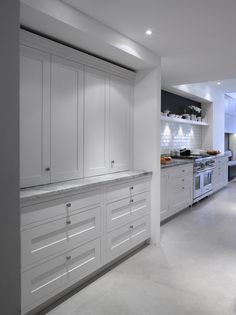 Roundhouse New Classic white painted bespoke kitchen