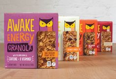 AWAKE Energy Granola — The Dieline - Branding & Packaging