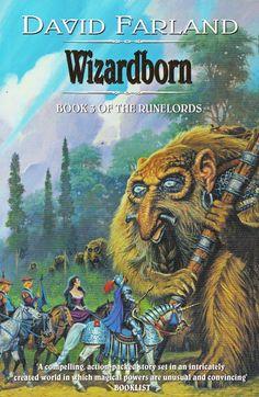 David Farland. Wizasdborn Book 3 Of The Runelords Cover Art. Darrell K. Sweet