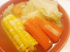 **超甜瘦身湯水~雜菜薯仔瘦肉湯