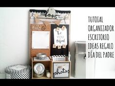 TUTORIAL ORGANIZADOR DE ESCRITORIO - YouTube