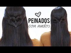 Peinados con nudos