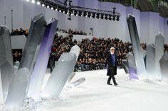 Le défilé Chanel automne-hiver 2012-2013