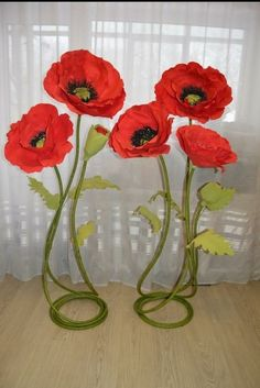 Best 12 Poppies from paper How to – SkillOfKing.Com Best 12 Poppies from paper How to – SkillOfKing.
